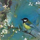 blue tit by Chloe Mandy, Painting