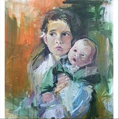 Evelyn and Leo by chloe Mandy, Painting